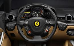 Download Ferrari F12 Berlinetta interior wallpaper 1842