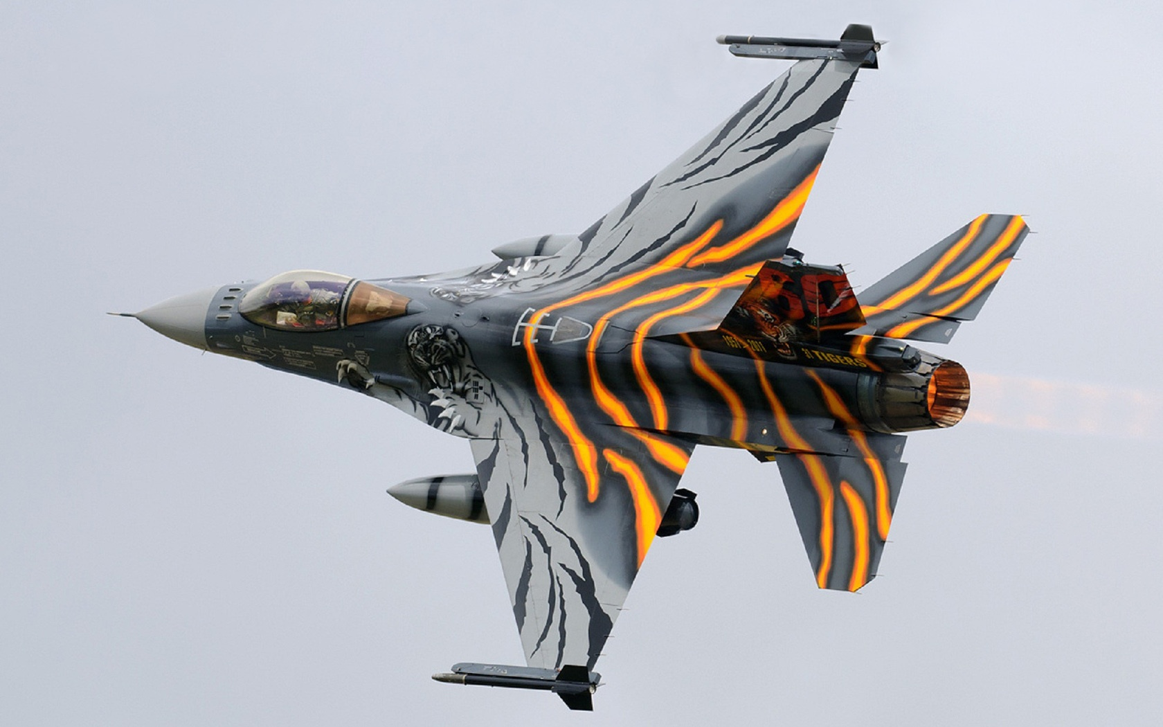 Tiger F 16 Fighting Falcon Wallpapers1680x1050346280 280