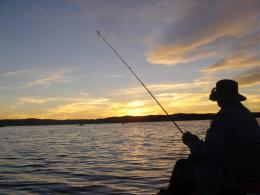Fishing Sunset Wallpaper Fishing at Sunset 1066