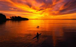 Fishing at dawn wallpaper736098 1975