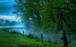Misty Dawn Wallpaper 296 misty river at dawn 1407