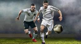Soccer Football Wallpapers two soccer players soccerball Beautiful 1452