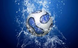 Football Wallpapers blue white soccerball Beautiful Soccer Football 1824