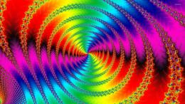 Spiral fractal wallpaperAbstract wallpapers#15283 1017