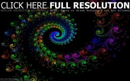 Spiral Fractals Multicolor | 1080p Wallpapers com 923