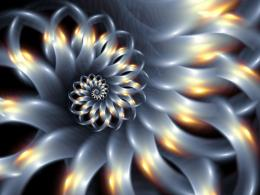 Fractal Wallpapers wallpaper, \'flower spiral fractal wallpaper 177