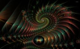 Fractal spirals wallpaperAbstract wallpapers#25503 759