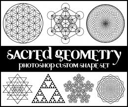 Sacred Geometry Custom Shapes by merrypranxter on DeviantArt 1741