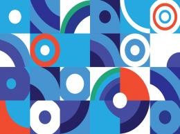 Geometric Vector Background 1482