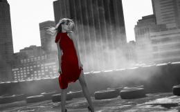 Girl in red dress wallpapers and imageswallpapers, pictures, photos 1607