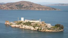 Alcatraz photographed in November of 2011 using a Canon 5D camera and 167