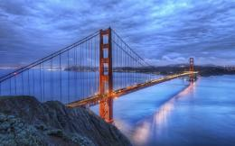 Awesome Golden Gate Bridge Hdr Hd Wallpaper | Wallpaper List 1688