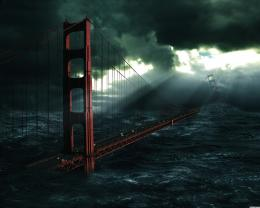 1305670406 bridge golden gate bridge flood wallpaper wallpaper jpg 781