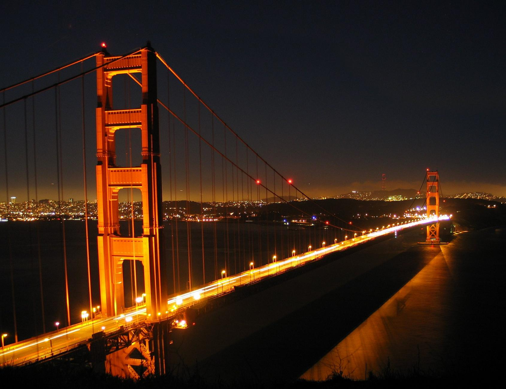 The original plans for the Golden Gate Bridge were rejected for 1229