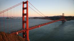 Golden Gate Bridge photographed in November of 2011 using a Canon 5D 1318