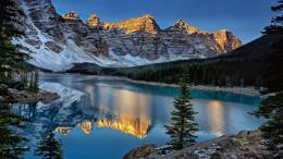 Banff National Park Mountain Reflection Hd Wallpaper | Wallpaper List 990