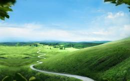 Green hills wallpaper #28791 594
