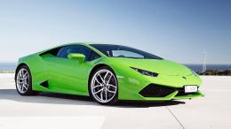 2014 Lamborghini Huracan LP610 4 Green Wallpaper | HD Car Wallpapers 360