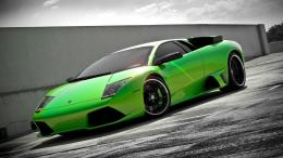 Super hot green lamborghini super car wallpaperpic 7 338