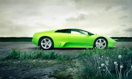 Wonderful Green Lamborghini Car Wallpaper | HD Wallpapers 881