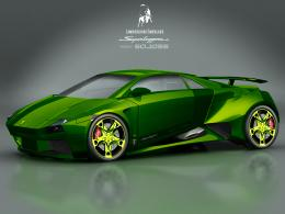 Download Green Lamborghini Embolado Wallpaper | Free Wallpapers 673