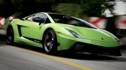 Green Lamborghini Gallardo In Forza Motorsport HD wallpaper 1920x1200 729