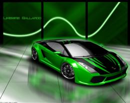 Green And Black Lamborghini 21 Cool Wallpaper 276