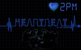 3D Heartbeat Wallpaper HD Blue Creative 3D Heartbeat 2PM Image 243