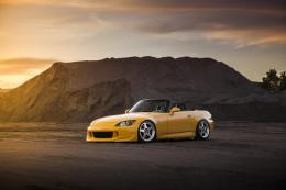 Wallpapers honda, s2000, tuning, yellow, honda, 2000, tuning, yellow 1047