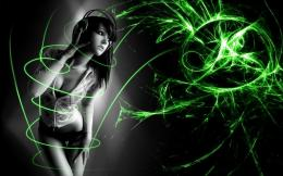 Awesome Wallpaper Abstract 3D Girl | Epic Plugins 708