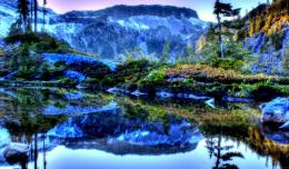 Mountain lake landscape water hdr nature 1024x600 1183