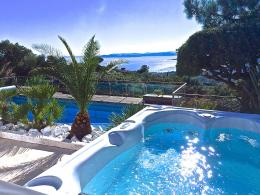 Villa 5 *Exceptional Sea ViewHeated Pool 29°cJacuzziSauna 1755
