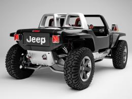 2005 Jeep Hurricane ConceptRear Angle1280x960 Wallpaper 310