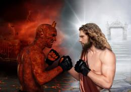 Go BackGallery ForSatan Vs Jesus 1024