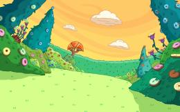 Cartoon Adventure Hd Wallpaper | Wallpaper List 1352