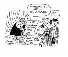 Funny cartoons about court 1014