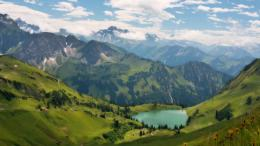 Alps Lake HD Wallpaper » FullHDWppFull HD Wallpapers 1920x1080 855