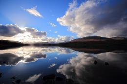 Best wallpaper of hills, wallpaper of lake, clouds | ImageBank biz 987