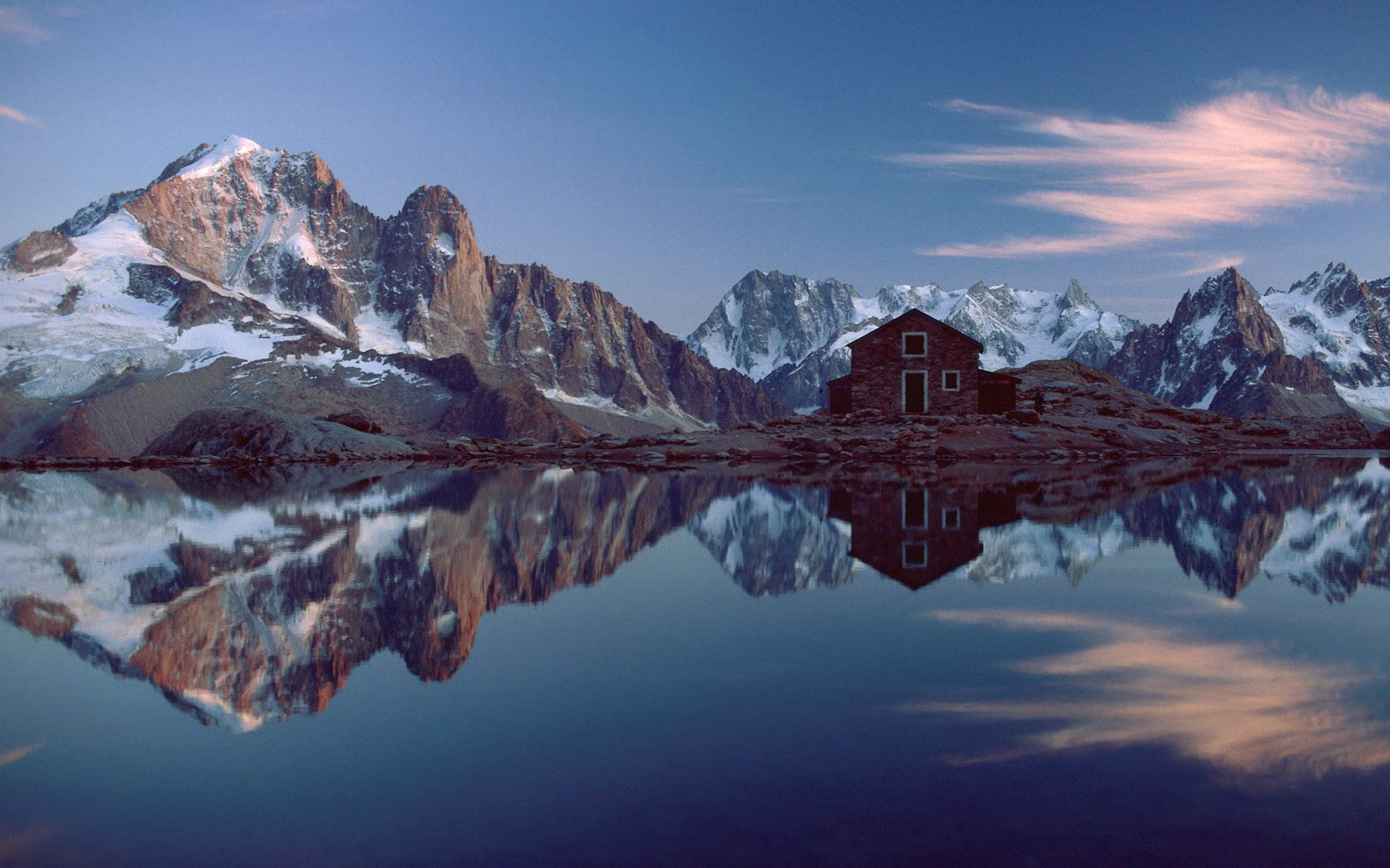 the lake house reflection Wallpaper Background | 37251 1964