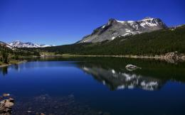 1920x1200 Blue lake reflections desktop PC and Mac wallpaper 481