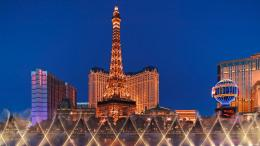 Eiffel Tower as Seen From the Bellagio, Las Vegas 752