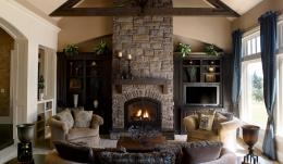 living rooms with fireplaces 3 stone wall living room with fireplace 1760