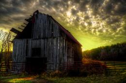 Country Barn Sunset for Pinterest 1896