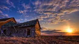 Barn Home Old Sunset #25493 Wallpaper | Wallpaper hd 1467