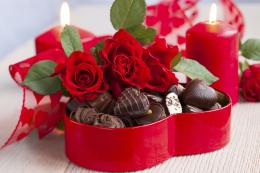 love february 14 holiday heart candy chocolate wallpaper background 1543