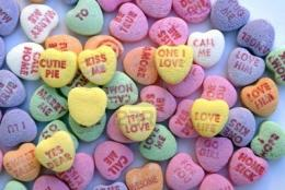 Displaying Images ForValentines Day Hearts Candy Wallpaper 199
