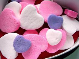 Love heart shaped candy, Love heart shaped candy 724