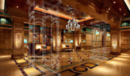 3D rendering luxury hotel night | Download 3D House 258