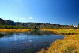 Madison River Yellowstone Park Fly Fishing hd wallpaper #1582744 1371