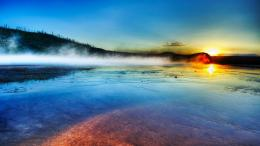Download Sunrise Yellowstone wallpaper in Nature wallpapers with all 282